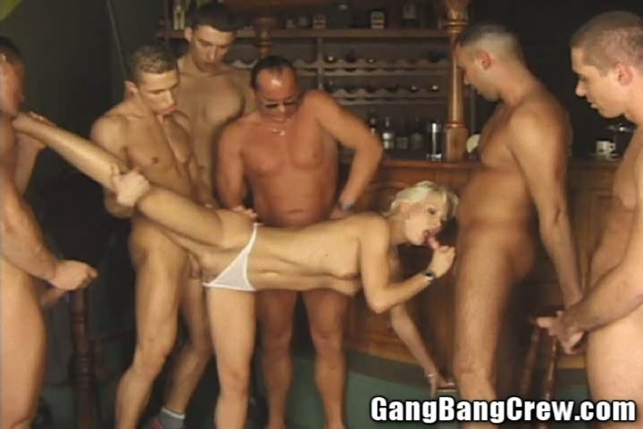 Gang bang girl christian
