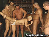 Barmaid Double Penetration Gang Bang